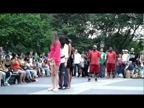 Acrobatic Dance at Washington Square Park