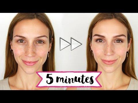 Maquillage EXPRESS pour l'école/travail