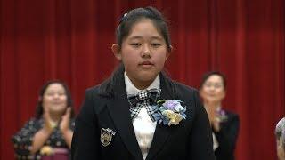 ハンセン病療養所がある島の小学校でたった一人の卒業式 香川・大島