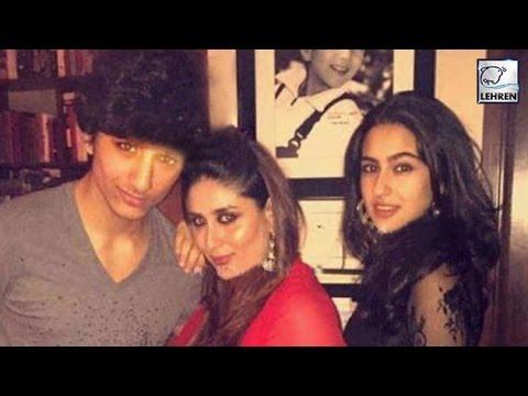 Kareena Kapoor Parties With Saif Ali Khan's Kids   Sara   Ibrahim   LehrenTV