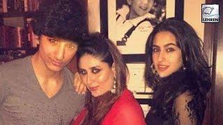 Kareena kapoor parties with saif ali khan's kids | sara | ibrahim | lehrentv