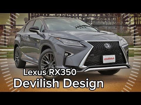 2016 Lexus RX Shakes It Up With Polarizing Design -  Feature Focus