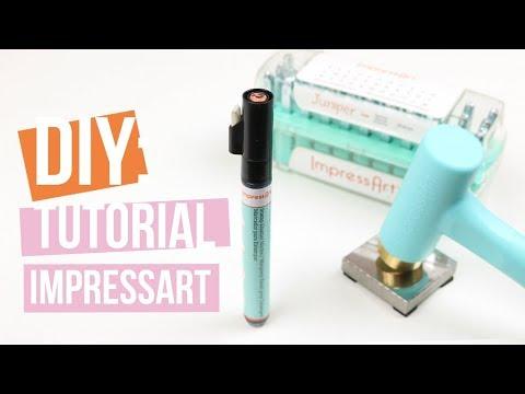 ImpressArt | Stamp Emaille marker ♡ Tutorial