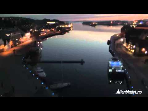 Stavanger Aftenblad live camera, Midnight sun