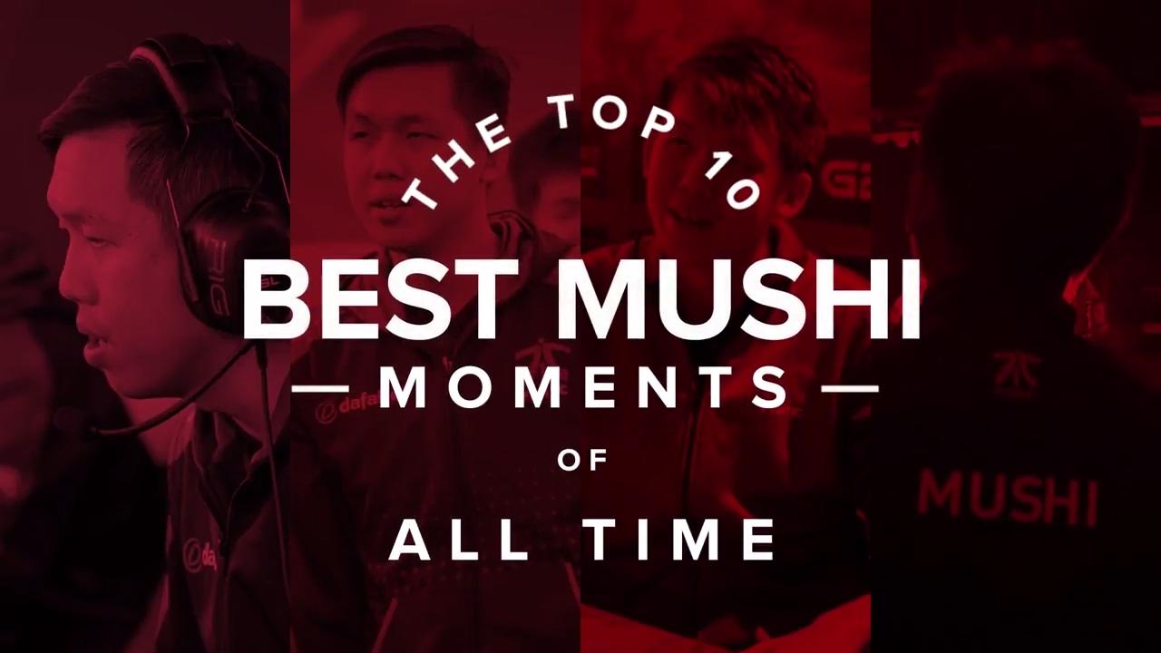 Top 10 Best Mushi Moments (Dota 2)