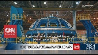 Roket Terbesar yang Mampu Membawa Manusia ke Planet Mars