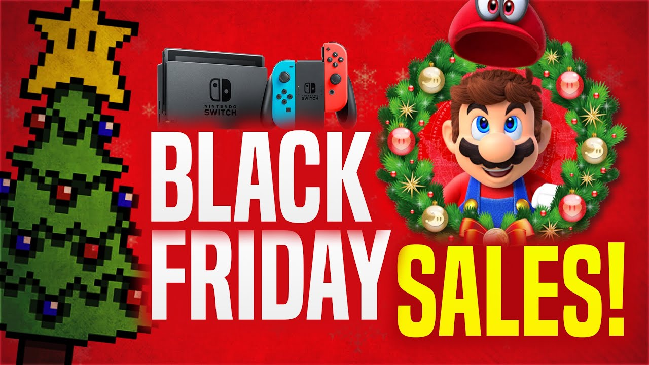 Best Black Friday 2020 Nintendo Switch Deals And Sales Roundup Youtube