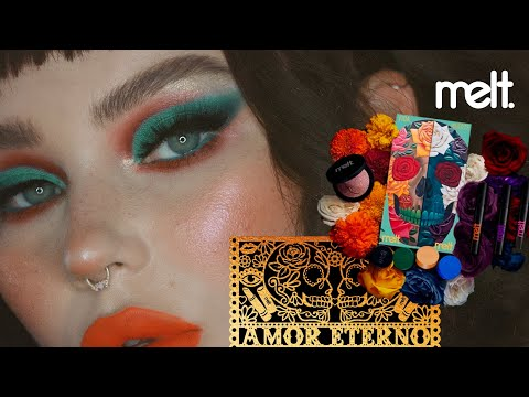 melt cosmetics amor eterno collection / makeup tutorial