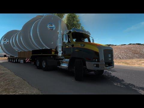 CAT CT 660 | big load | 155 toneladas | evaporador industrial | mega carga extrema