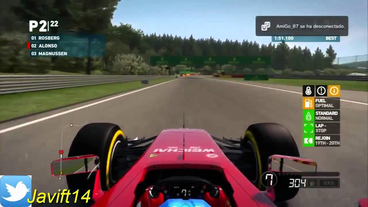 F1 2014 primera impresion PS3