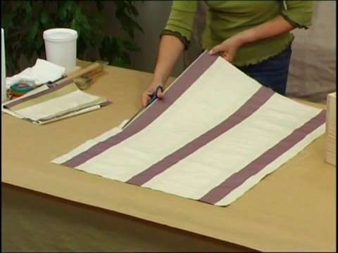 C mo tapizar una caja 1 curso de monitor de - Como forrar un armario con tela ...
