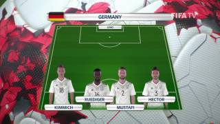 Match 4 - Australia v Germany -Team Lineups - FIFA Confederations Cup 2017
