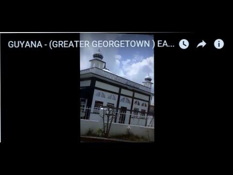 GUYANA - (GREATER GEORGETOWN ) EAST BANK DEMERARA