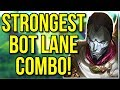 THE STRONGEST BOT LANE COMBO IN THE GAME! INFINITE LONG RANGE POKE! - League of Legends
