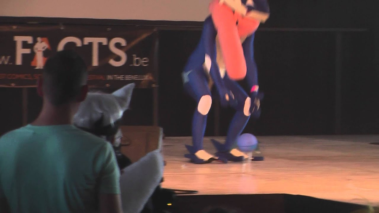 facts 2014 cosplay show saturday 19 greninja pokmon youtube