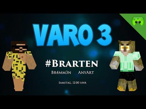 VARO 3 TRAILER - Ab morgen, 12:00 Uhr #Brarten