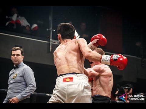 RCC Boxing | Марк Урванов против Акжола Сулайманбека Уулу | Момент нокаута | Бой за WBA Gold