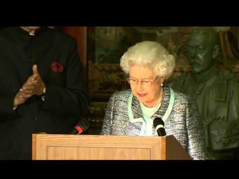 The Queen signs historic charter