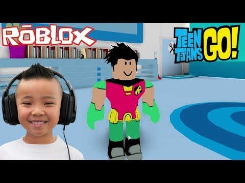 EXPLORING Teen Titans Go Tower Roblox Gameplay With CKN Gaming
