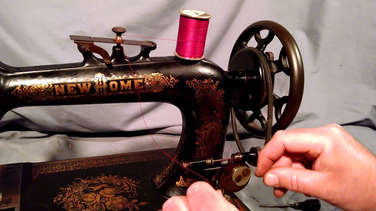 new home sewing machine antique