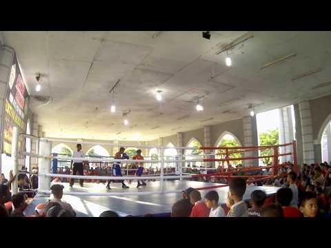 Luar Biasa: Aceh Besar dan Aceh Tengah Jual Beli Pukulan di Pra PORA Lhokseumawe