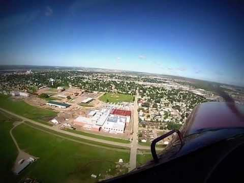 Landing at Williston North Dakota