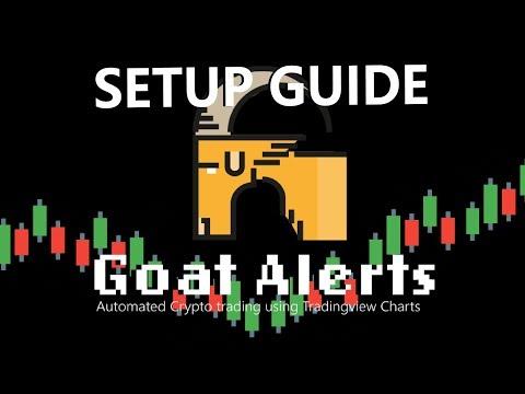 Goat Alerts Trading Bot Setup Guide - Tradingview Bot for  Bitmex & Bybit
