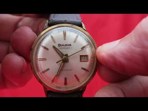 1950's Bulova AeroJet Self Winding Automatic Swiss Watch affordable