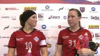 EFC 2014 Interview Sveiva after semifinal