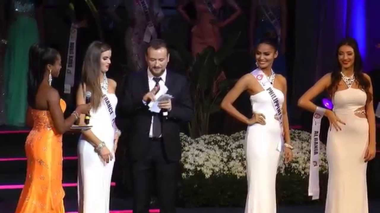Miss Globe 2015   Top 5 Announcement   Question and Answer   Ann     YouTube Premium