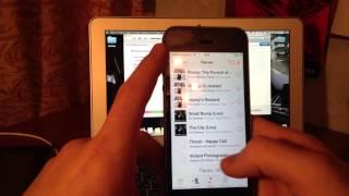 Смотреть видео хочу записать мелодии с компьютера на айфон что мне делать подскажите