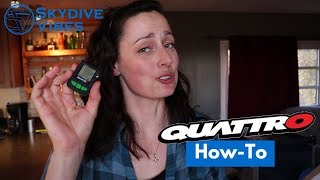How to set up Altitude Alarms - L&B Quattro Audible