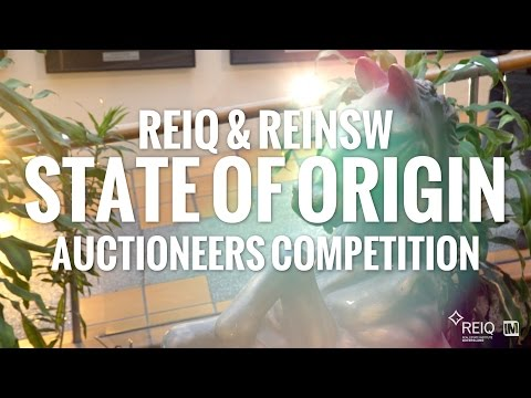 REIQ & REINSW State Of Origin Auctioneers Competition 2015