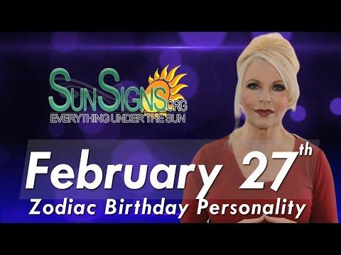 Pisces Zodiac Facts - 27th February Birthday Horoscope