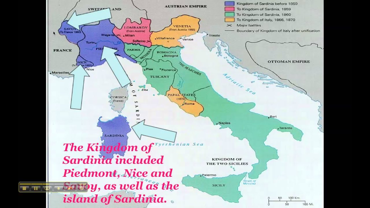 unification of italy youtube