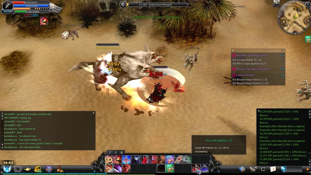 Cabal Online Slot Extender Drop