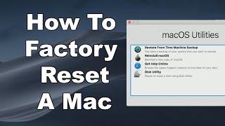 How To Erase & Facтory Reset A Mac & Reinstall macOS - Step By Step Guide