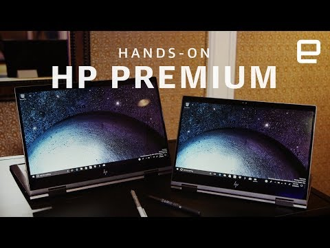 HP Premium Preview 2018 Hands-on