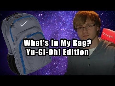 What's In My Bag: Yu-Gi-Oh! Edition (Deck Boxes, Mats, Binders)