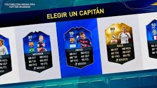 FIFA 16   TOTY MESSI DC + TOTY NEYMAR + SIF BALE - FUT DRAFT BRUTAL