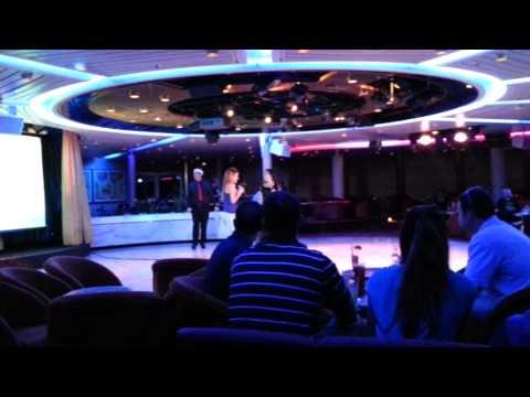 Karaoke Royal Caribbean cruise