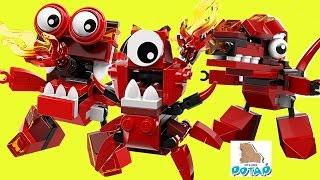 Лего Миксели Мультик Lego Mixels Series 4 Infernites ИНФЕРНИТЫ Лего Мультики. Детский Канал