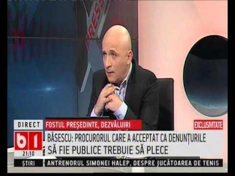 Traian Băsescu, invitatul lui Sabin Orcan la X-Press (B1 TV)