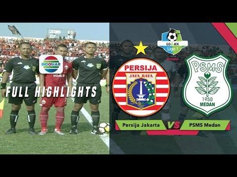 PERSIJA (0) vs PSMS Medan (0) - Full Highlight | Go-Jek Liga 1 bersama Bukalapak