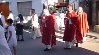 Cesano. Affollatissima processione per il Corpus Domini