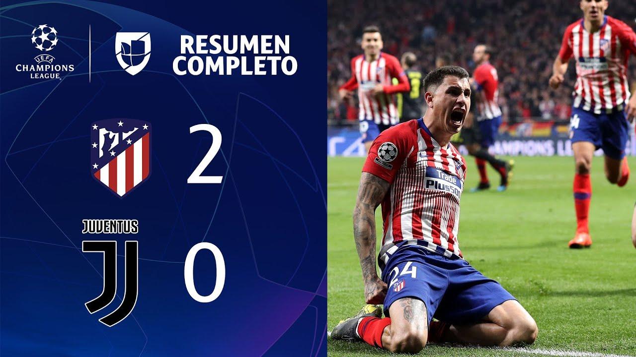 Download Atlético de Madrid 2-0 Juventus – GOLES Y RESUMEN COMPLETO – IDA OCTAVOS DE FINAL – UEFA Champions L