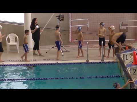 December 8, 2013   Charles swimming 100 metres free style in Mississauga Meet
