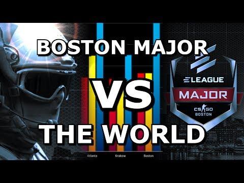 Boston Major VS the World