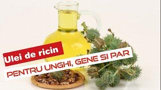 ulei de ricin pentru durerile articulare)