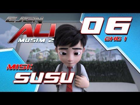 Ejen Ali - Musim 2 (EP06) - Misi : SUSU [Bahagian 1]